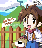 Harvest Moon by BettyKwong