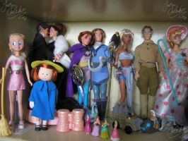 Disney and Animated dolls 5 by JCproductions