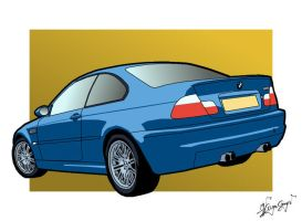 BMW E46 M3 by csonger