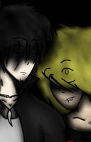 Zero and Liz in the Dark by 3933911