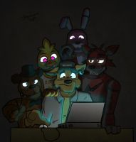 They're behind me? by JAZcabungcal