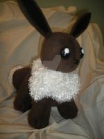Eevee Plush by xxtemporaryinsanity