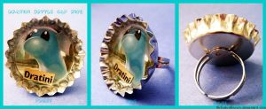 Dratini Bottle Cap Ring by TheLastUnknown