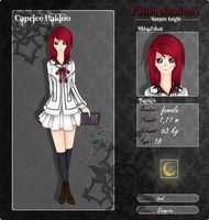 FallenAcademy Application- Caprice Hakino by Caprice-H
