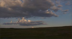 Morning clouds over the tundra by NikolaiMalykh