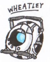 wheatley by ScarfFetish