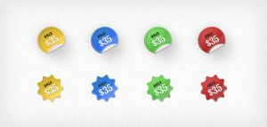 FREE Price Stickers by ait-themes