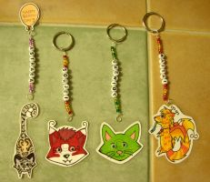 Magnet and Keychains by risha