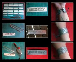 Some of the bracelets I was ordered by Miss-Gato