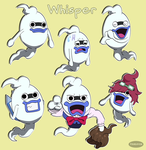 Yo-Kai Watch: Whisper Expressions by Fishlover