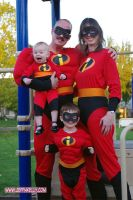 Halloween 2008 Family Costumes by jhwood9