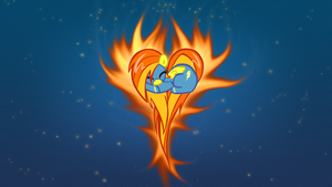 Spitfire Heart Ponypaper by opheex