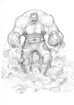 Hulk Pencils by 7oti