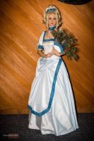 Lady Oscar Cosplay in Pachinko Ball Gown by ayral