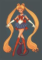 Sailor Moon by StressedJenny
