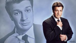 Nathan Fillion - Tuxedo! by GhostLinz
