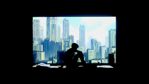 Ghost in the Shell Skyline by MobiusZeroOne