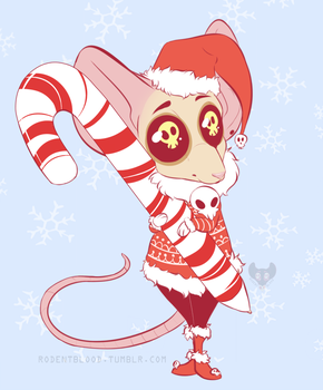 Holiday Mouse by Rodent-blood