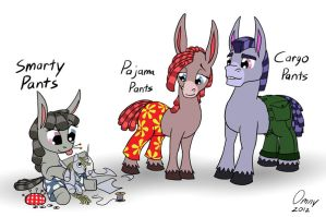 The Pants Family by Omny87