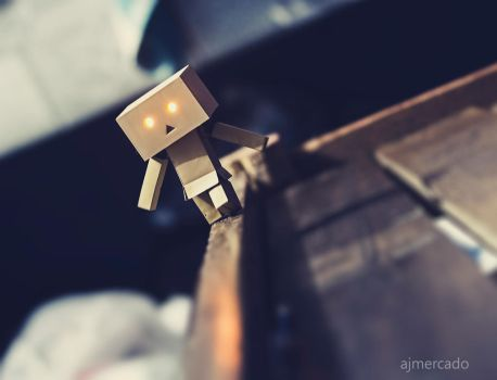 Danbo: Hanging On by wawaivory3415