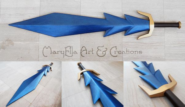 Medievil Magic Sword - wood replica by MithriLady