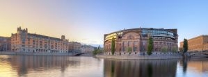 Panorama of Political Power by HenrikSundholm