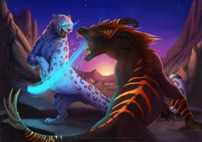 Fight Commission - tsarin fa by Sythgara