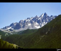 French Alps V by lynsea