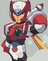 Red Hope by rockman-forte