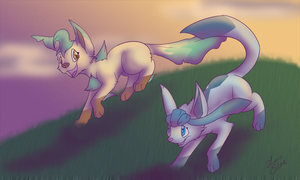 Friends Forever by LupusSilvae
