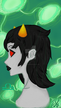 Terezi-Pyrope by TheP0tat0Queen