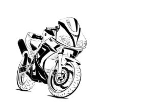 Suzuki SV white-black by Zed03