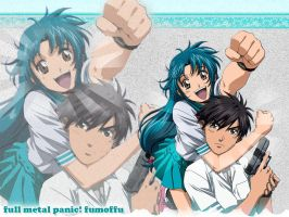 Full metal panic    Fumoffu by queenf4ver