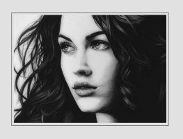 Megan Fox large by Scylaxx