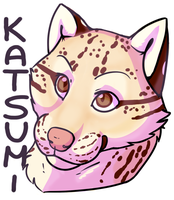 Katsumi Badge by AcidPaw
