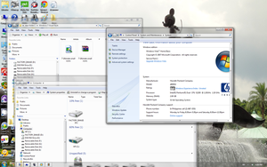 Windows 7 Visual Style for Vista by LuigiRules3442