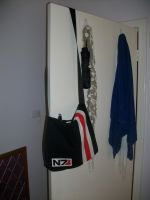 Mass Effect N7 Messenger Bag by FezMiranda87