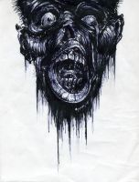 Zombie Head by Thatguy101