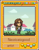 Pixelcard: Neoriceisgood by Neoriceisgood