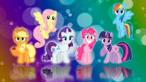 my little pony FIM wallpaper by artlove152