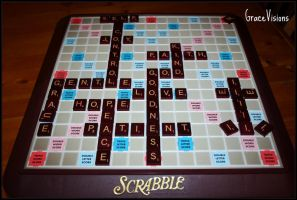 Scrabble Fruit by GraceVisions