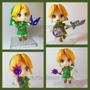 Majora's mask Nendoroid accessories by Gimmeswords