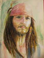 Captain Jack Sparrow by Yikie-chan