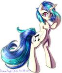 Vinyl Scratch by ChaosAngelDesu