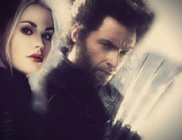 Wolverine and Rogue by TeamSNIC
