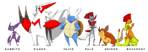 Team A Size Chart Finished by Zito-is-Neato