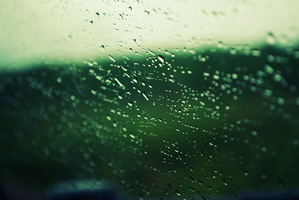 Water on the Window by Jyant