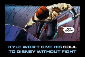 Kyle Katarn's opinion on Disney and Lucasfilm by Icewalkerman