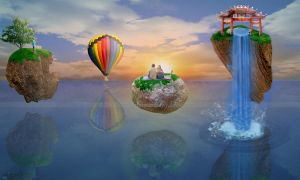Floating Paradise by AnotherImpossibility