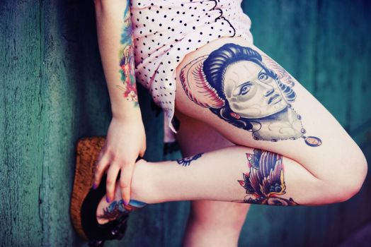 Tattoo II by blooding